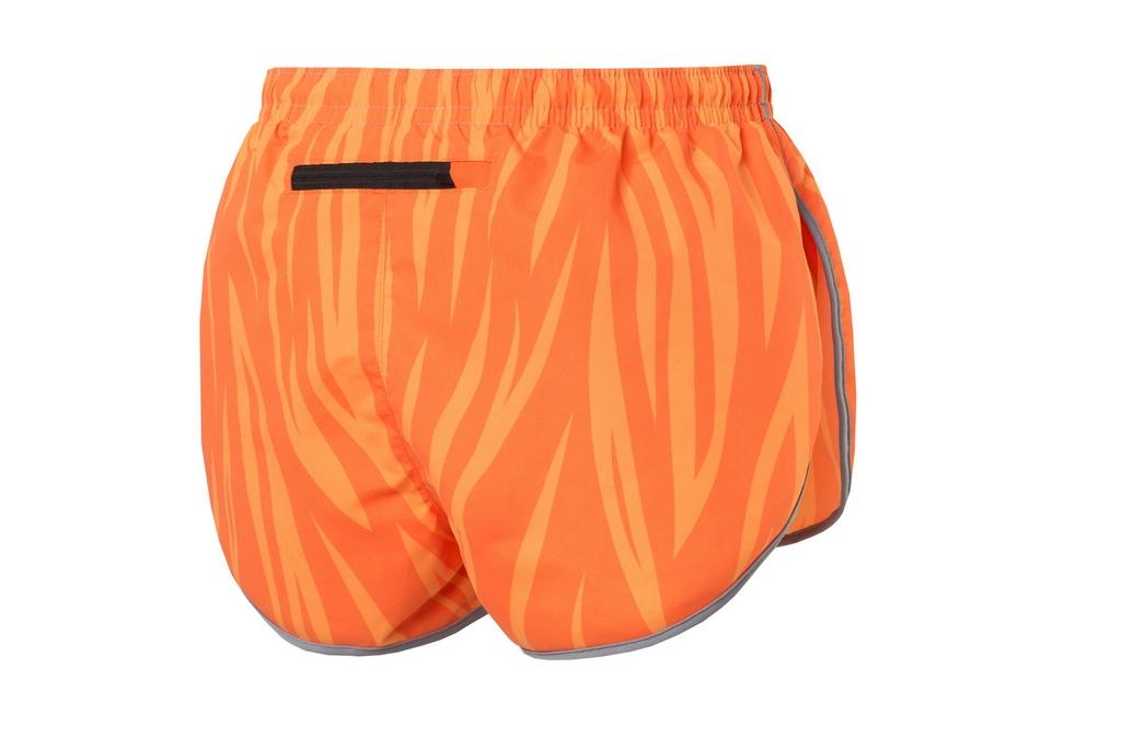 b5835f3b44f0ff Running Shorts Orange Fire - MSL-04 - Nessi Sklep Internetowy