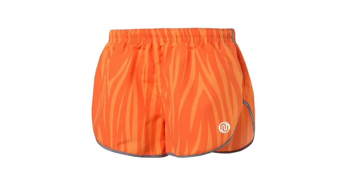 253a2571e Running Shorts Orange Fire - MSL-04