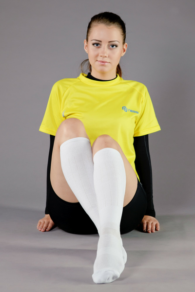 Cotton knee-high socks - 5-P