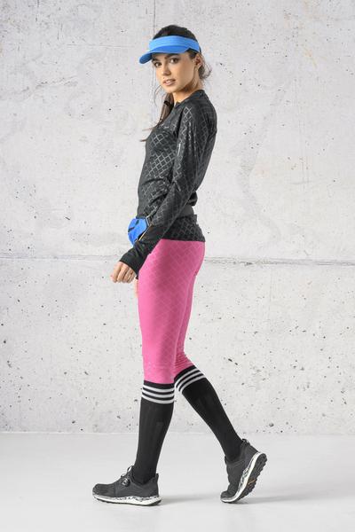 Cotton knee-high socks - 4-P