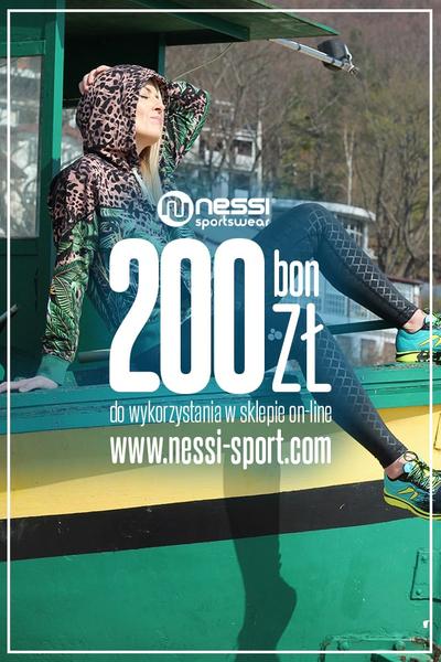 Bon podarunkowy nessi-sport.com 200 zł