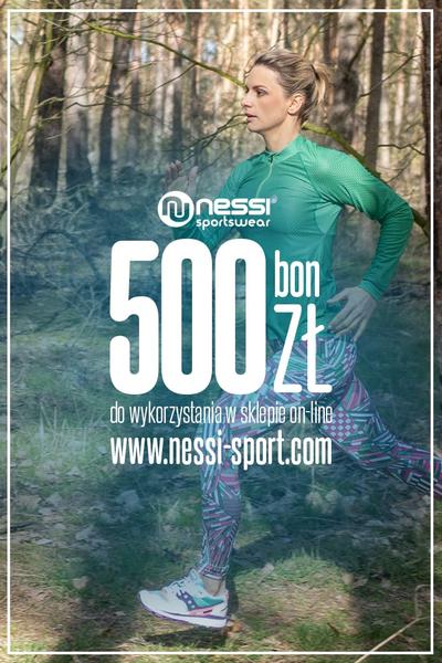 Bon podarunkowy nessi-sport.com 500 zł