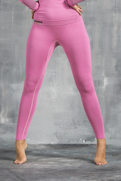 Damen Leggings Thermo Pink - GDN-30