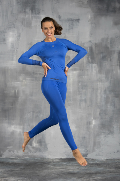 Damen Leggings Thermo Blue - GDN-50