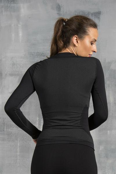 Long sleeve Thermo Woman Black - BDN-90