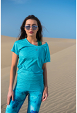 Loose T-shirt Galaxy Turquoise - OTD-9G6 - packshot