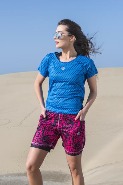 Lockeres T-Shirt Galaxy Blue - OTD-9G7