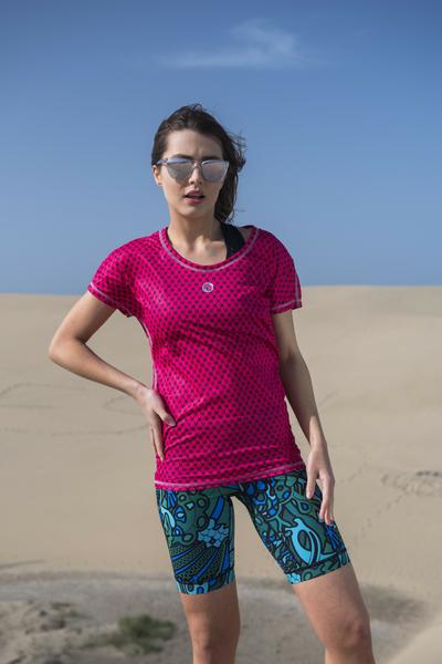 Lockeres T-shirt Galaxy Pink - OTD-9G2