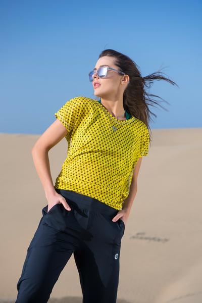 Bat T-shirt Galaxy Yellow - OTD-9G1