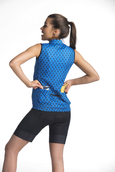 Fahrrad-Tank-Top Galaxy Blue - BKK-9G7