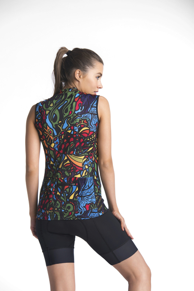 Bicycle Tank Top Mosaic Reef - BKK-9M1