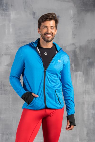 Bluza Rozpinana Blue Pro - OBRM-500