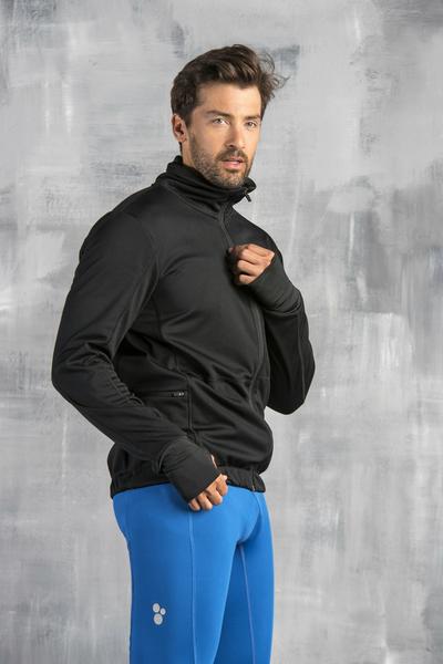 Bluza Rozpinana Black - OBOMR-90