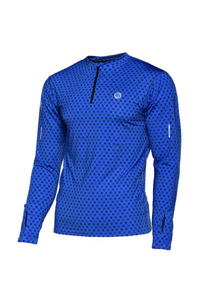 Training sweatshirt with long sleeves Galaxy Blue - LBMZ-9G7