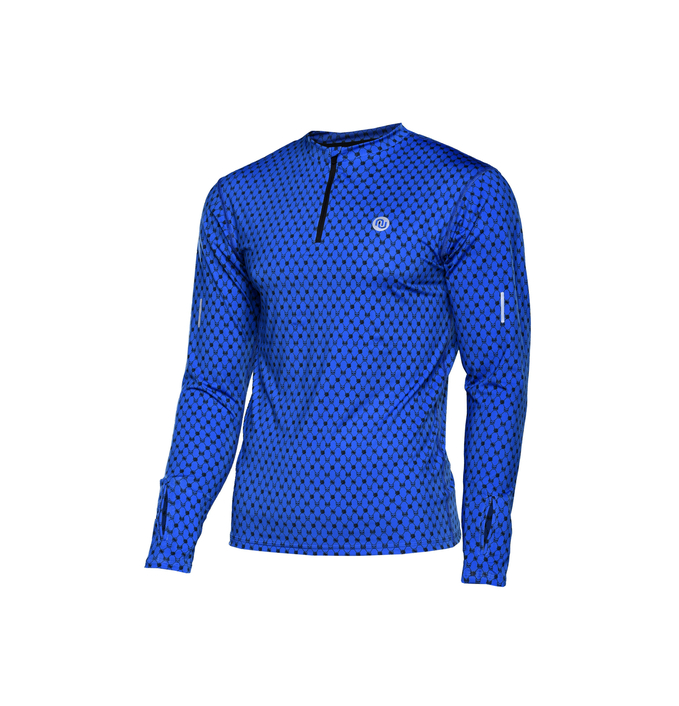 Training sweatshirt with long sleeves Galaxy Blue - LBMZ-9G7 - packshot
