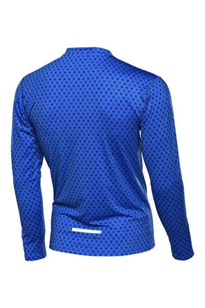 Bluza treningowa Zip Galaxy Blue - LBMZ-9G7