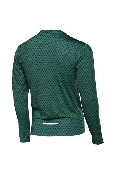 Training sweatshirt ZIP Galaxy Green - LBMZ-9G5