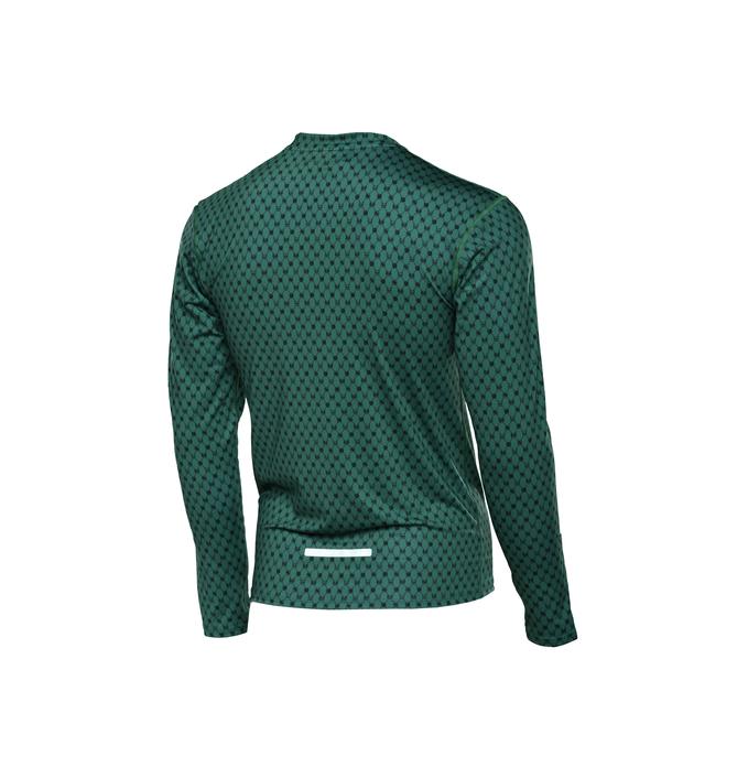Training sweatshirt with long sleeves Galaxy Green - LBMZ-9G5 - packshot