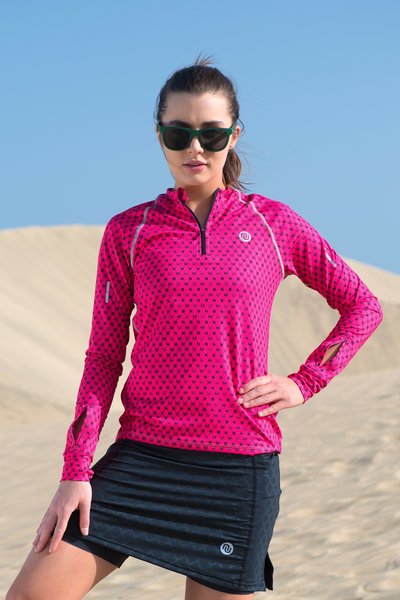Training sweatshirt with long sleeves Galaxy Pink - LBKZ-9G2