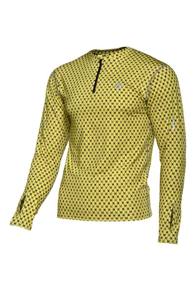 Bluza treningowa Zip Galaxy Yellow - LBMZ-9G1