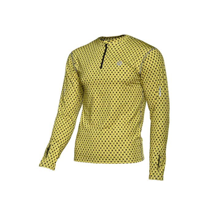 Training sweatshirt ZIP Galaxy Yellow - LBMZ-9G1 - packshot