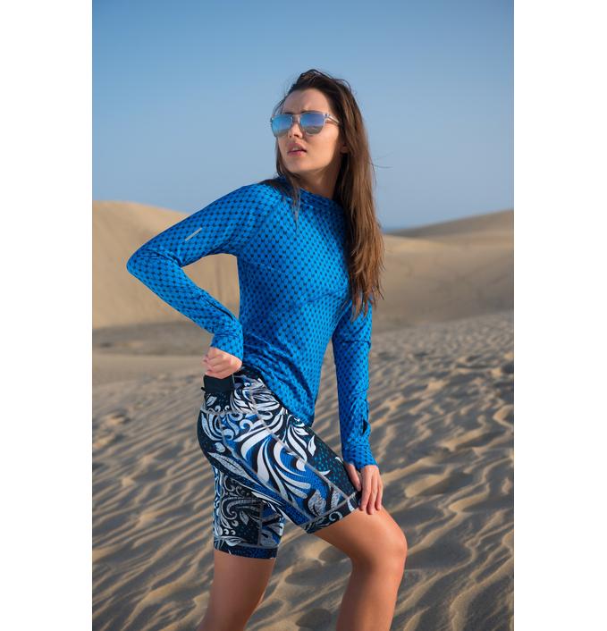 Training sweatshirt with long sleeves Galaxy Blue - LBK-9G7 - packshot