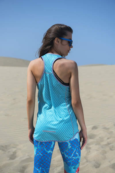 Boxer Tank Top Galaxy Turquoise - DBL-9G6