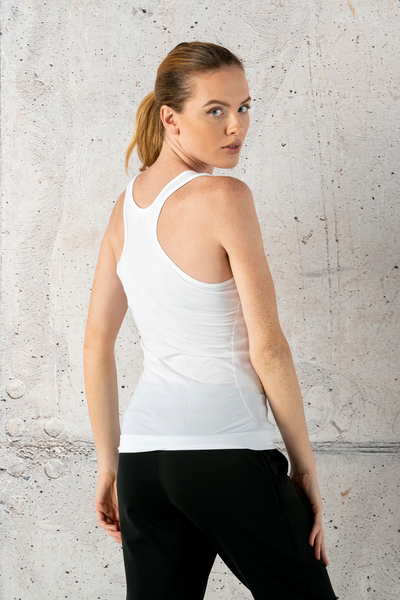 Ultra Light Breathable Tank Top White - DFU-00