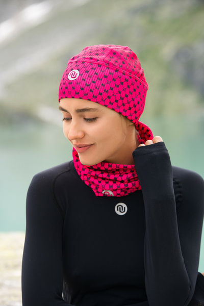 Thermoaktive Mütze Galaxy Pink - ACZ-9G2