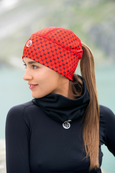 Thermoactive cap Galaxy Red - ACO-9G4