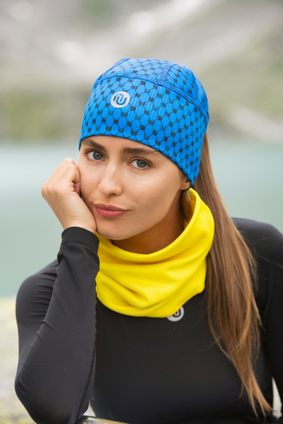 Thermoactive cap Galaxy Blue - ACO-9G7