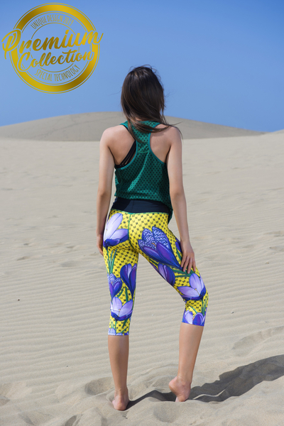 3/4 Leggings 4K UltraHD Crocus - OSTP-1VK
