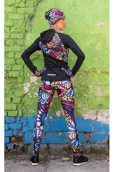 Colorful Leggings Mosaic Comics - OSLK-92