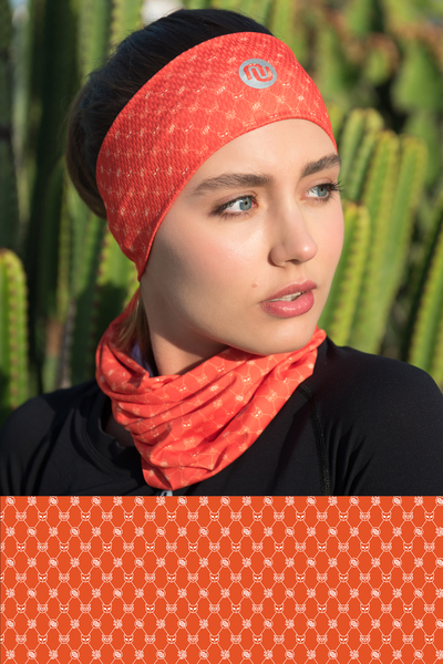 Summer Breathable Neck Warmer Galaxy Coral - ABL-9G3