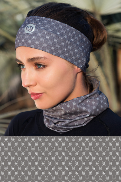 Summer Breathable Neck Warmer Galaxy Grey - ABL-9G9