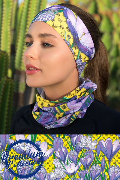 Breathable Summer Neck Warmer Crocuses - ABL-1VK