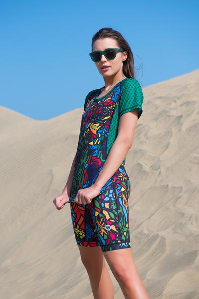 T-shirt Mosaic Reef - KSD-9M1