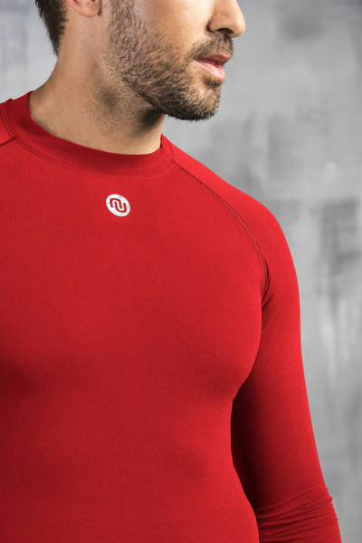 Ultra Light Longsleeve Breathable Red - BLM-20