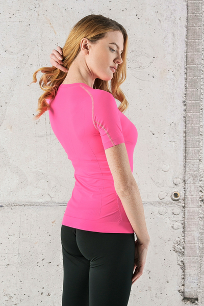 Ultra Light Breathing T-Shirt Pink - BUD-30
