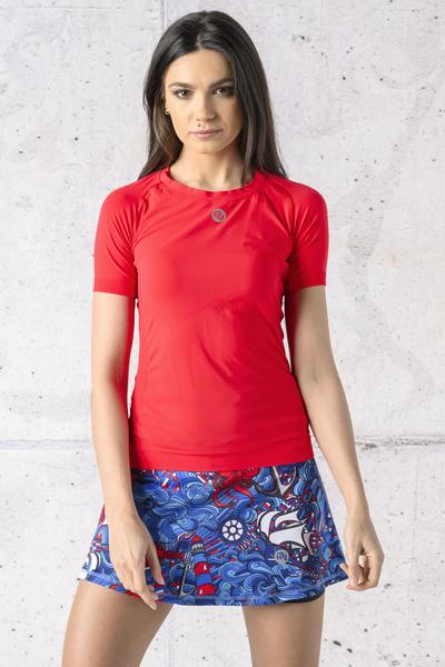 Koszulka Oddychająca Ultra Light Red - BUD-20