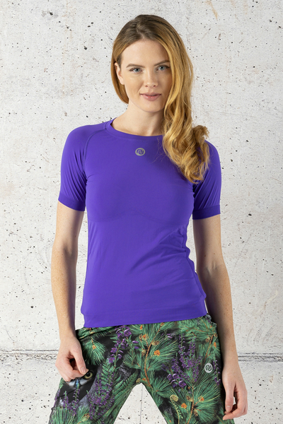 Ultra Light Breathing T-Shirt Violet - BUD-59