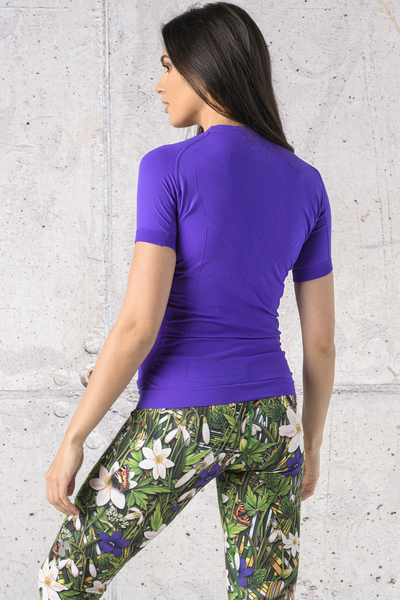 Koszulka Termoaktywna Ultra Light Violet - BUD-60