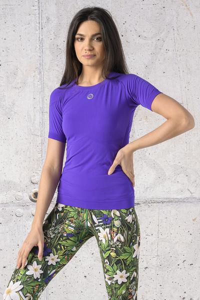 Koszulka Oddychająca Ultra Light Violet - BUD-59