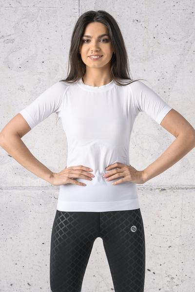 Koszulka Oddychająca Ultra Light White - BUD-00