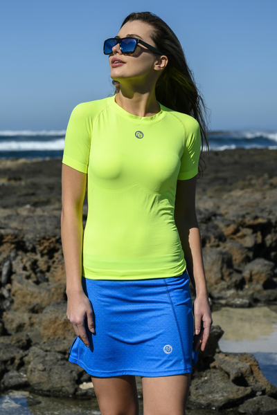 Ultra Light Breathing T-Shirt Yellow Neon - BUD-10