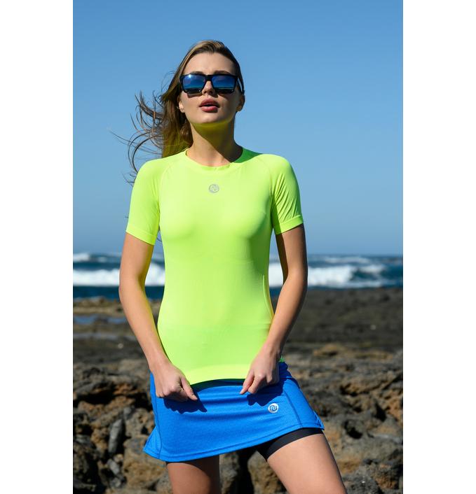 Koszulka Oddychająca Ultra Light Yellow Neon- BUD-10 - packshot