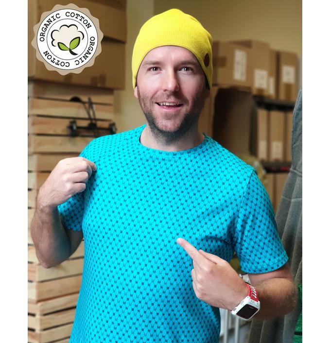 Koszulka T-shirt 100% Bawełna Eko - TBM-9G6 - packshot
