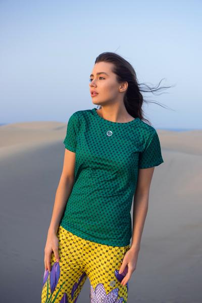 T-Shirt Galaxy Green - TSF-9G5