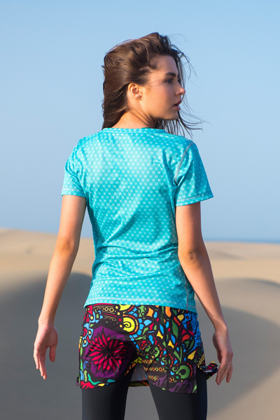 Koszulka T-shirt Galaxy Turquoise - TSF-9G6
