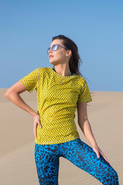 T-Shirt Galaxy Yellow - TSF-9G1
